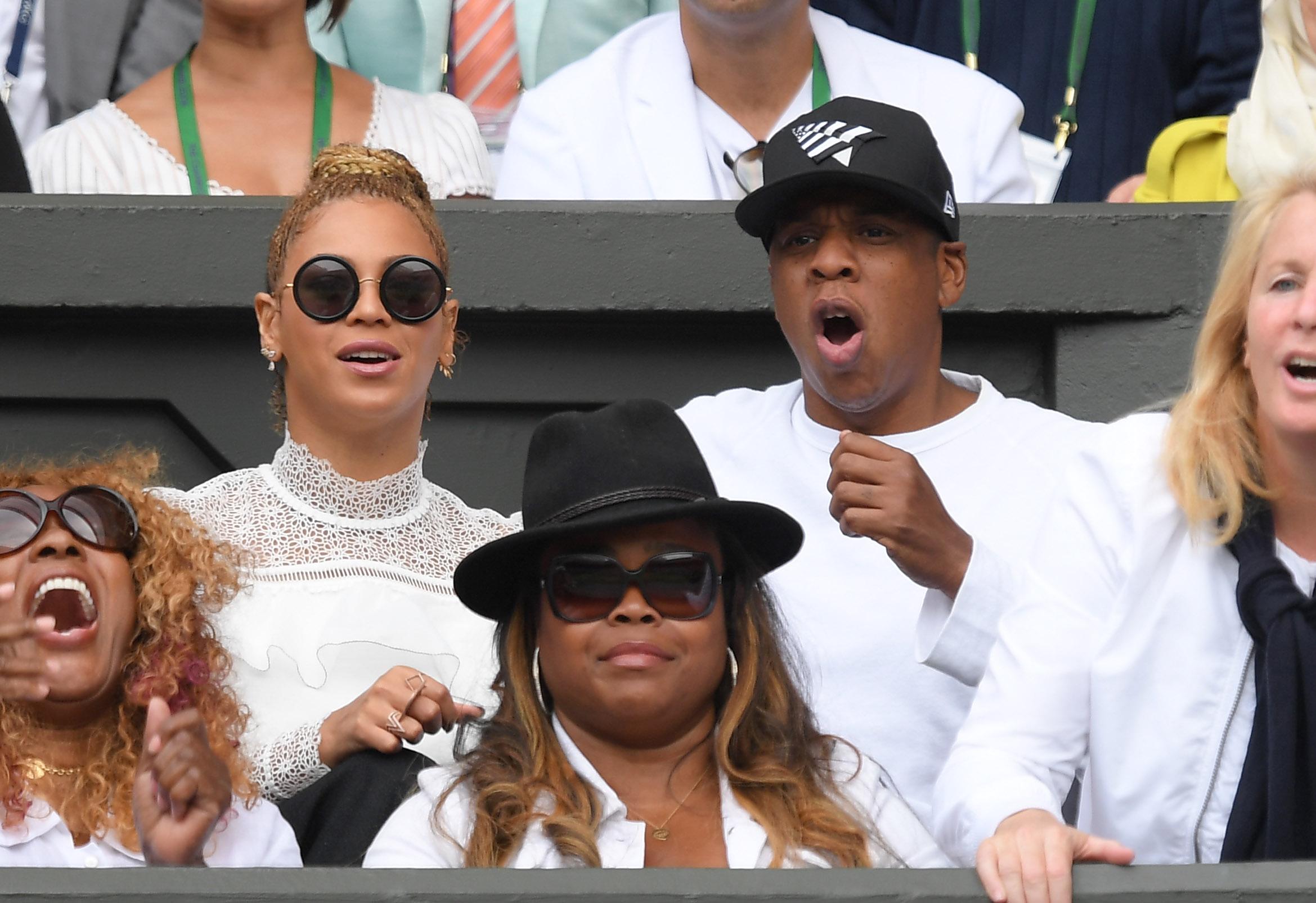 Beyonce Jay Z Wimbledon