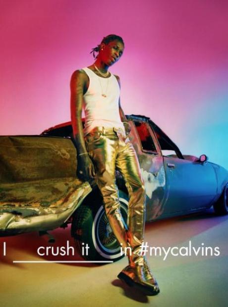Young Thug and Calvin Klein