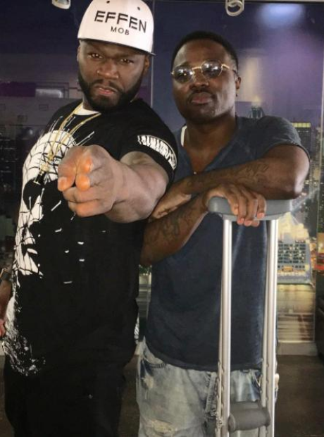 50 Cent and Troy Ave