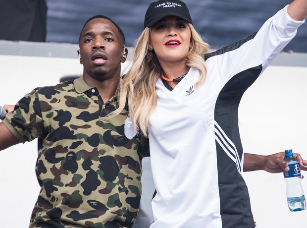 Konan and Rita Ora at Wireless Festival 2016