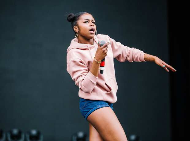 Nadia Rose at Wireless Festival 2016