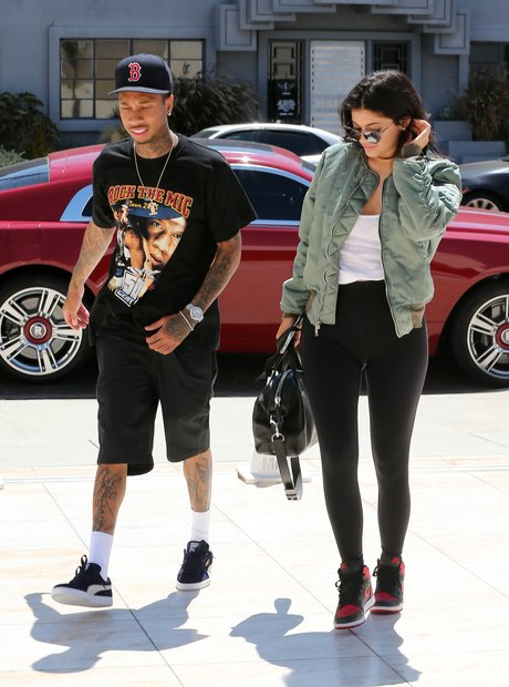 Kylie Jenner and boyfriend Tyga