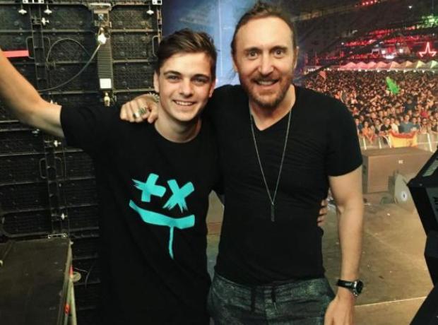 Martin Garrix and David Guetta