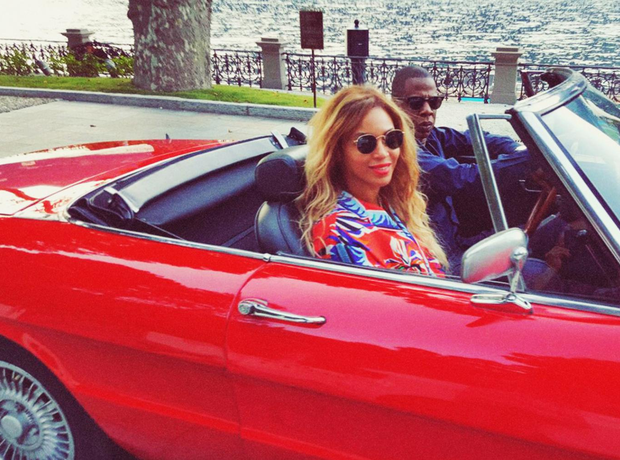 Beyoncé and Jay Z holiday 2016