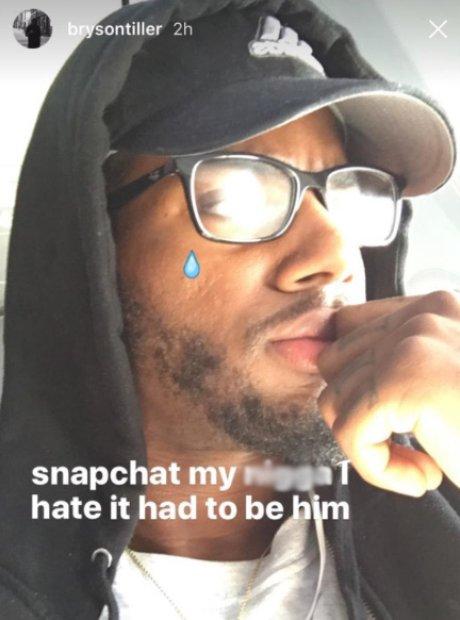 Bryson Tiller Snapchat