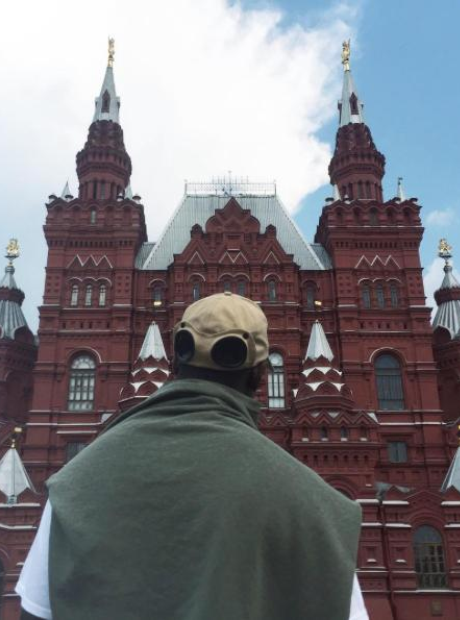 Skepta in Russia