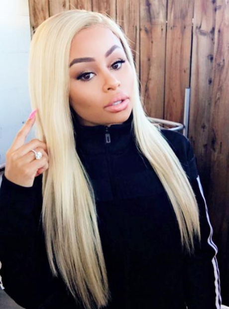 Blac Chyna is actually a professional makeup artist.
