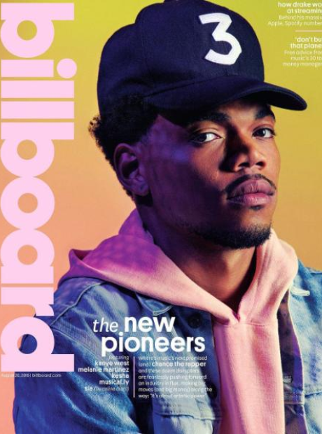 Chance The Rapper covering Billboard Magazine