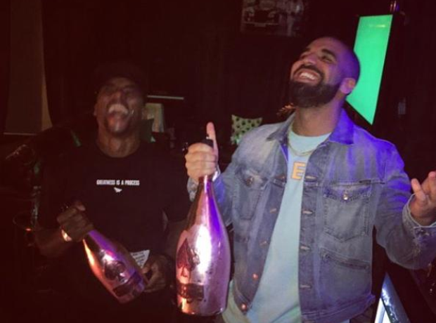 Drake and Charlemagne Tha God