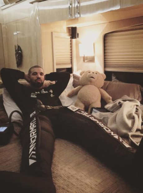 Drake and TED bear