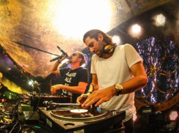 Dimitri Vegas And Like Mike on stage