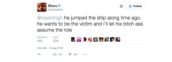 Jhene Aiko Divorce Tweet