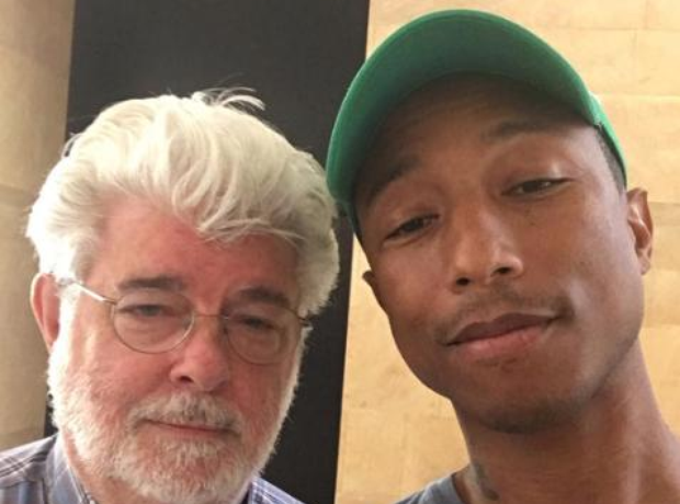 Pharrell and George Lucas