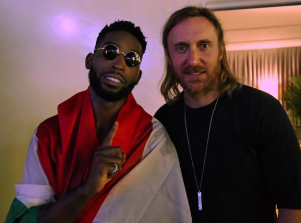 Tinie Tempah and David Guetta
