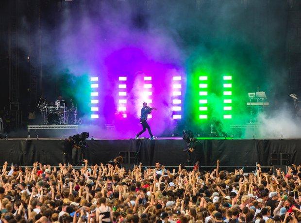 Big Sean on stage