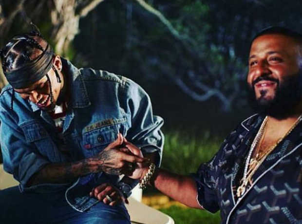 Chris Brown and DJ Khaled