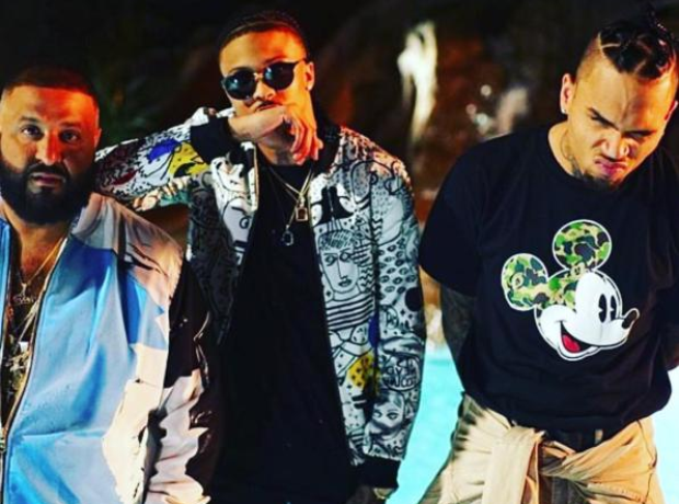 DJ Khaled Chris Brown August Alsina
