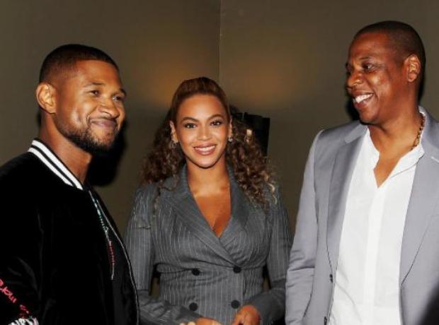Usher Beyonce Jay Z