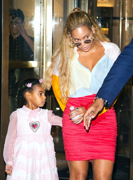 Beyonce and Blue Ivy shopping