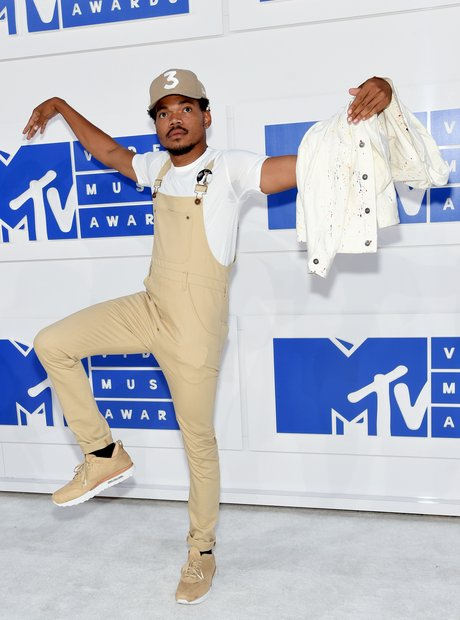 Chance The Rapper MTV VMAs Red Carpet 2016