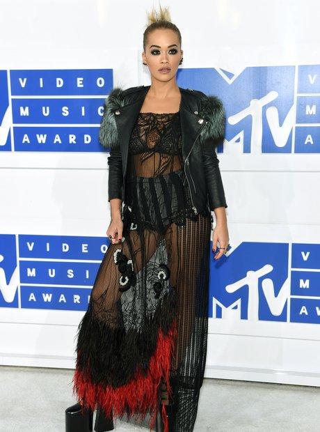 Rita Ora MTV VMAs 2016 Red Carpet