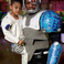 Image 7: 50 Cent dressed as cyborg