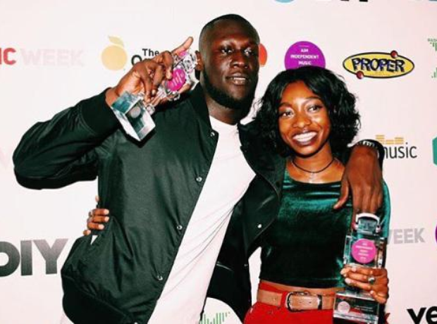 Stormzy Lil Simz at 2016 AIM Awards