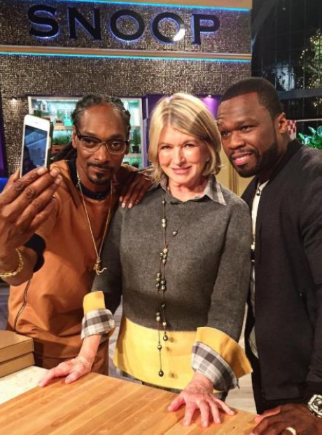 50 Cent Snoop Dogg Martha Stewart