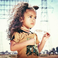 Image 9: Chris Brown's daughter Royalty modelling