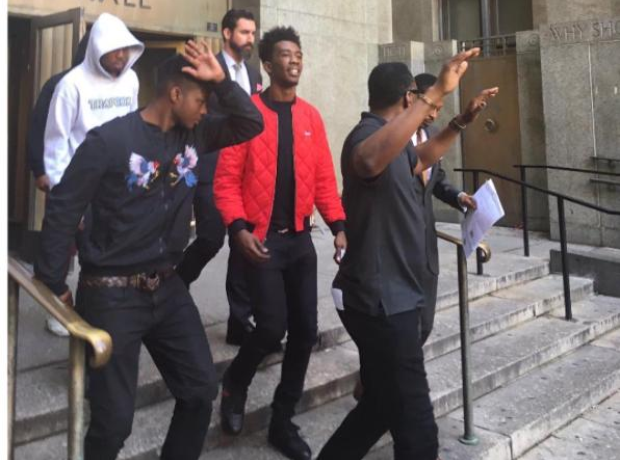 Desiigner Leaving Court