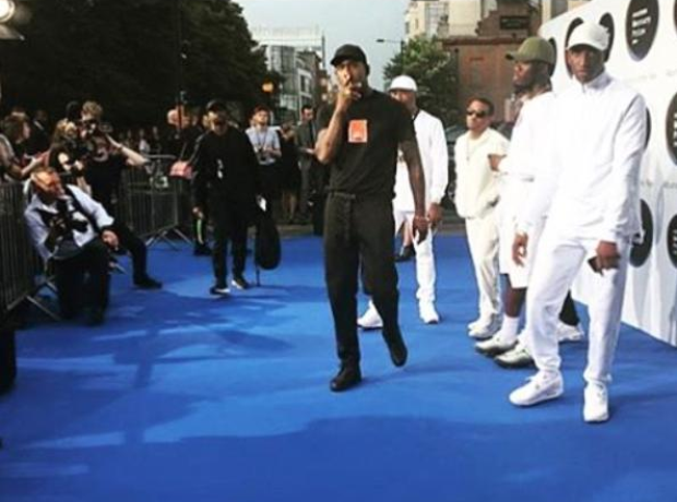 Skepta Mercury Music Prize Blue Carpet