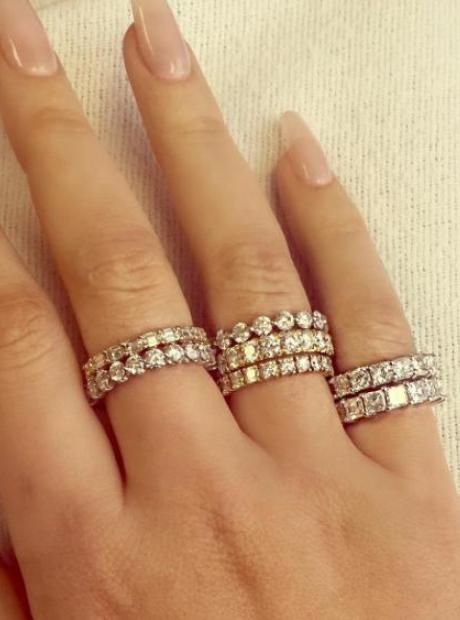Iggy Azalea French Montana 7 Diamond Rings