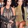 Image 1: kim kourtney kardashian balmain fashion show
