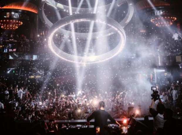 Martin Garrix DJing at Vegas nightclubs