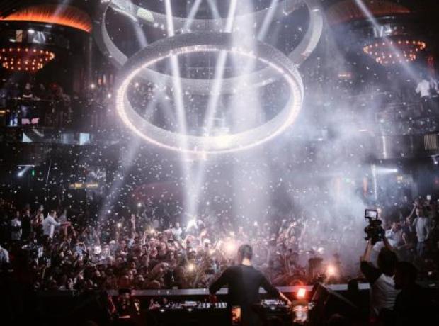 Martin Garrix DJing at Vegas nightclubs