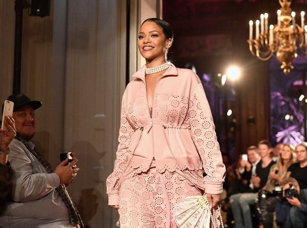 Rihanna Puma Fenty Fashion Show