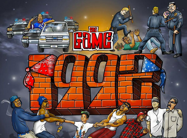 The Game 1992 Album Cover