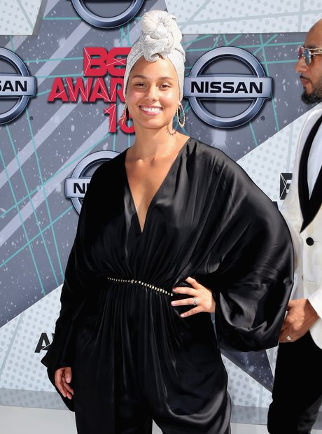Alicia Keys at the 2016 BET Awards