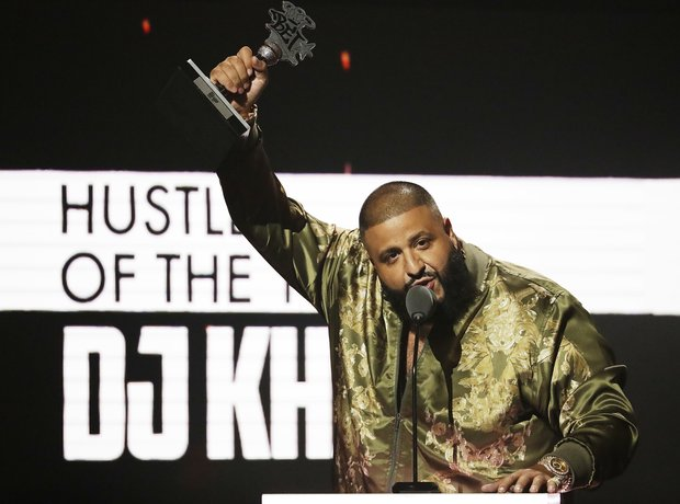 DJ Khaled at the 2016 BET Awards