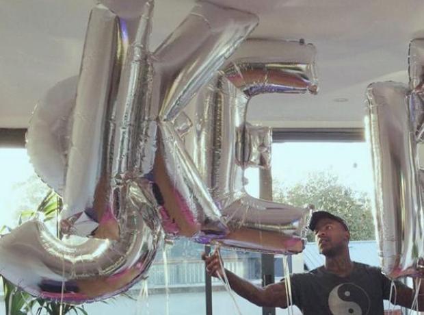 Skepta Birthday Balloons