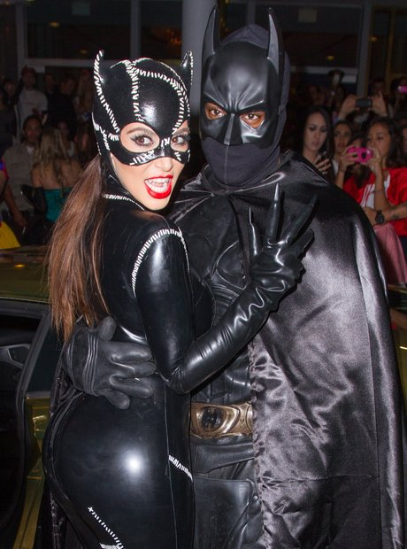 9. Looks like it worked - the loved up couple went as Catwoman and Batman in 2012. & 13 Of Kim Kardashianu0027s Most Amazing Halloween Costume Ideas To Steal ...