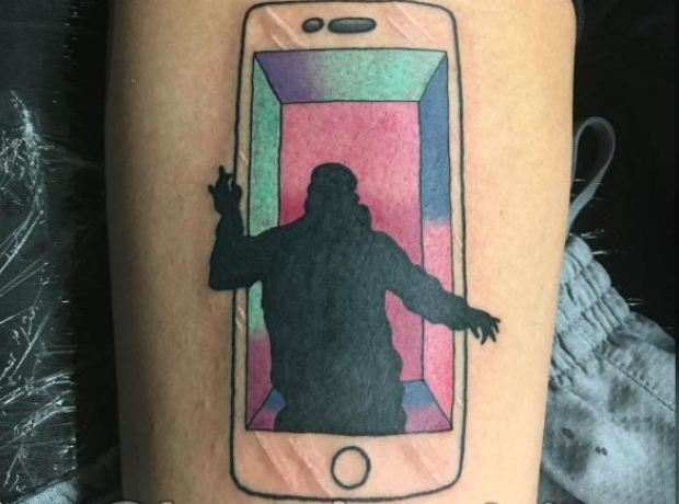 Drake Hotline Bling Tattoo