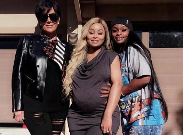 Kris Jenner Blac Chyna and Tokyo Toni