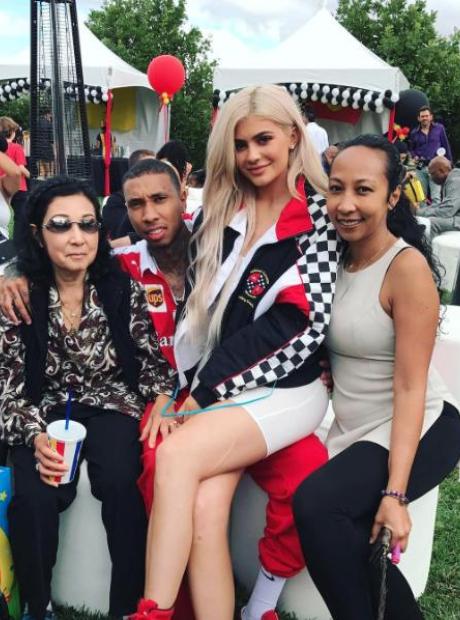 Kylie Jenner Tyga's Family