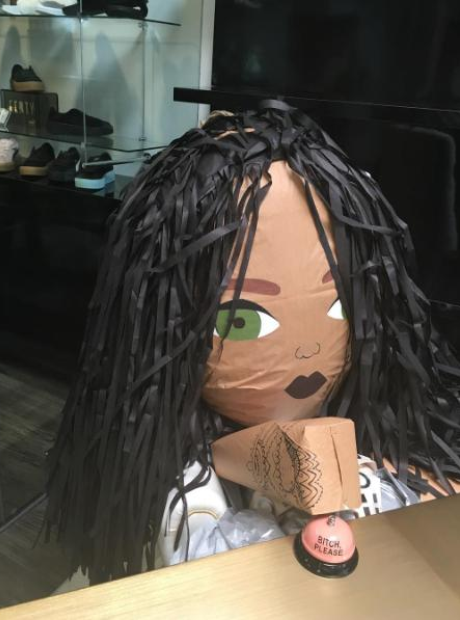 Rihanna Piñata Work