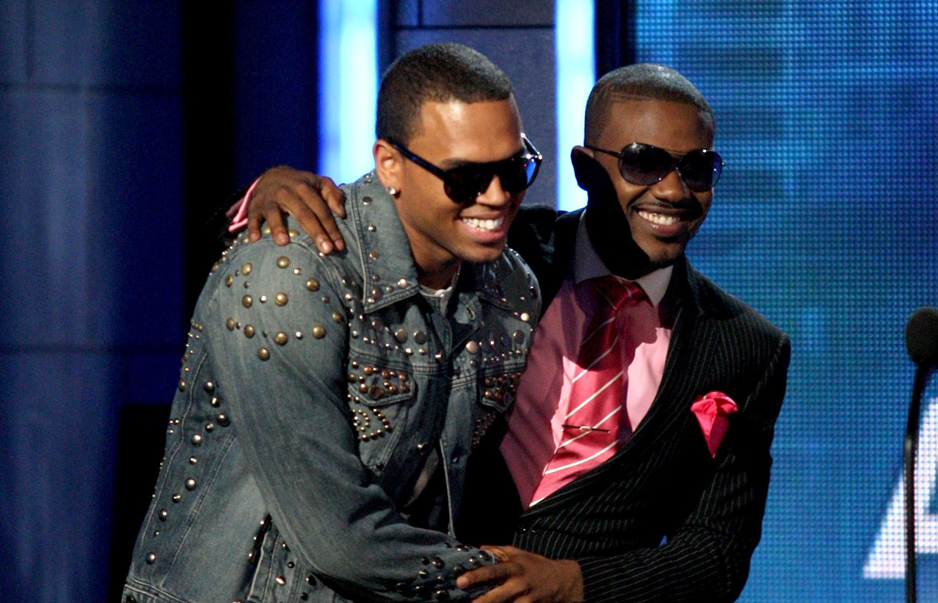 Chris Brown and Ray J