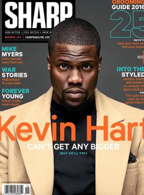 Kevin Hart Sharp Cover