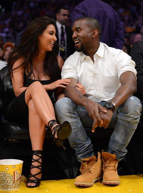 Kim and Kanye 2012
