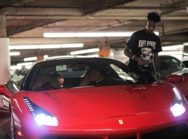 21 Savage Ferrari