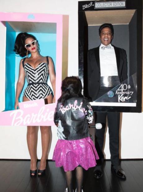 Beyonce Jay Z Blue Ivy Halloween